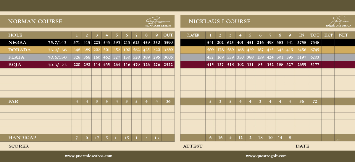 NORMAN     NICKLAUS I